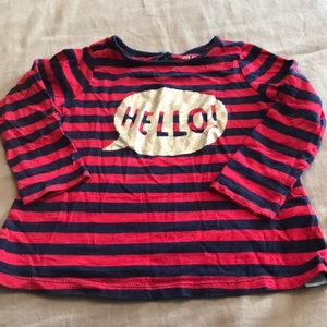 Hello LS T-shirt